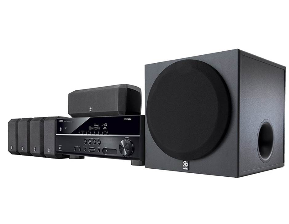 Yamaha YHT-3920UBL Surround Sound Speakers