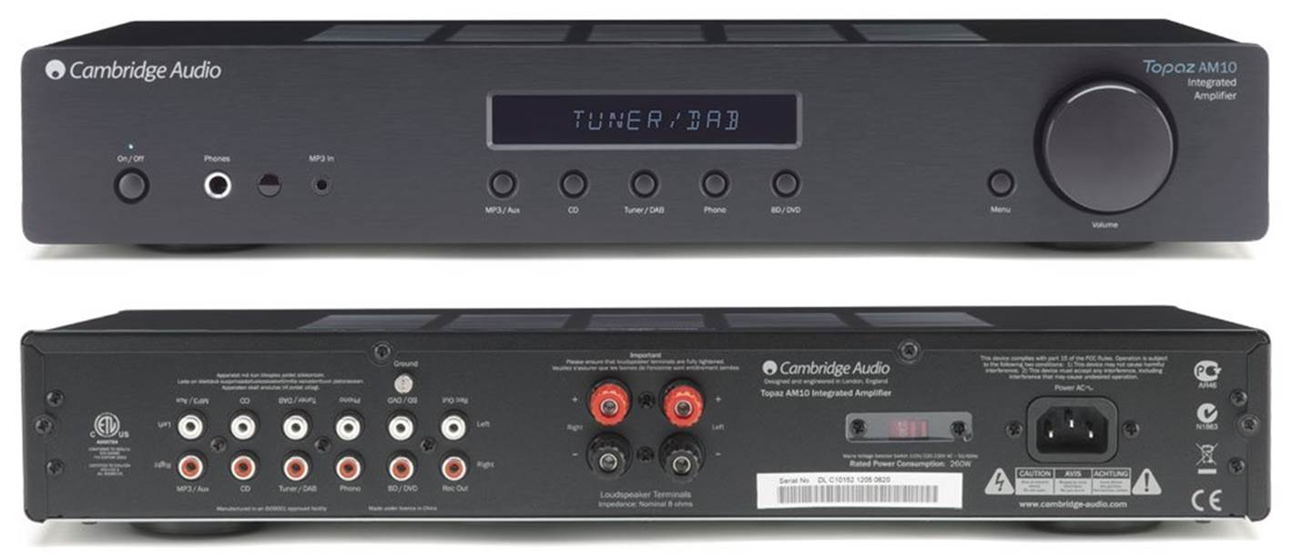 Cambridge Audio Topaz AM10 Stereo Receiver