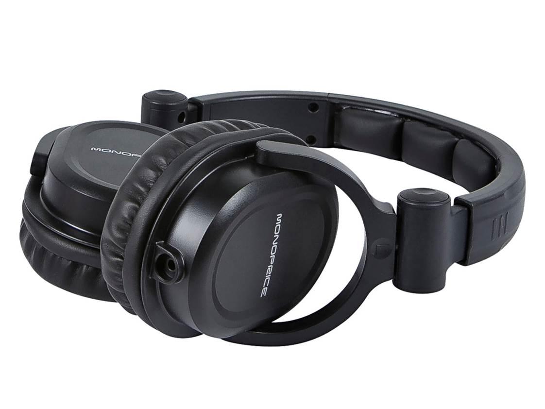 Monoprice 108323 Premium DJ Headphones