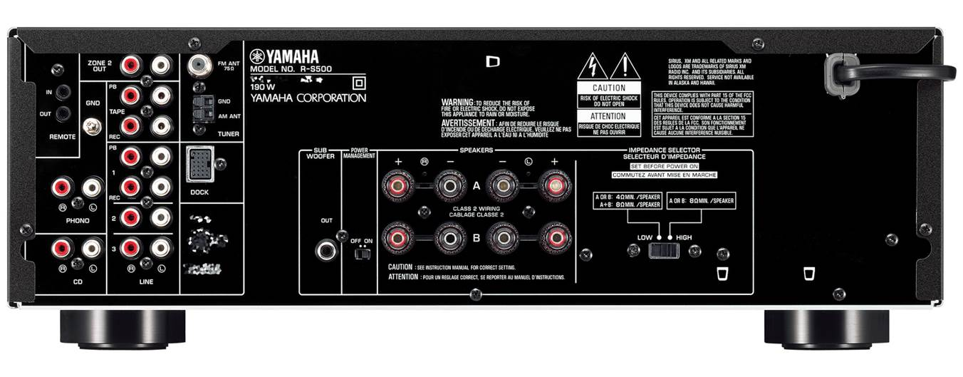 Yamaha R-S500BL Stereo Receiver