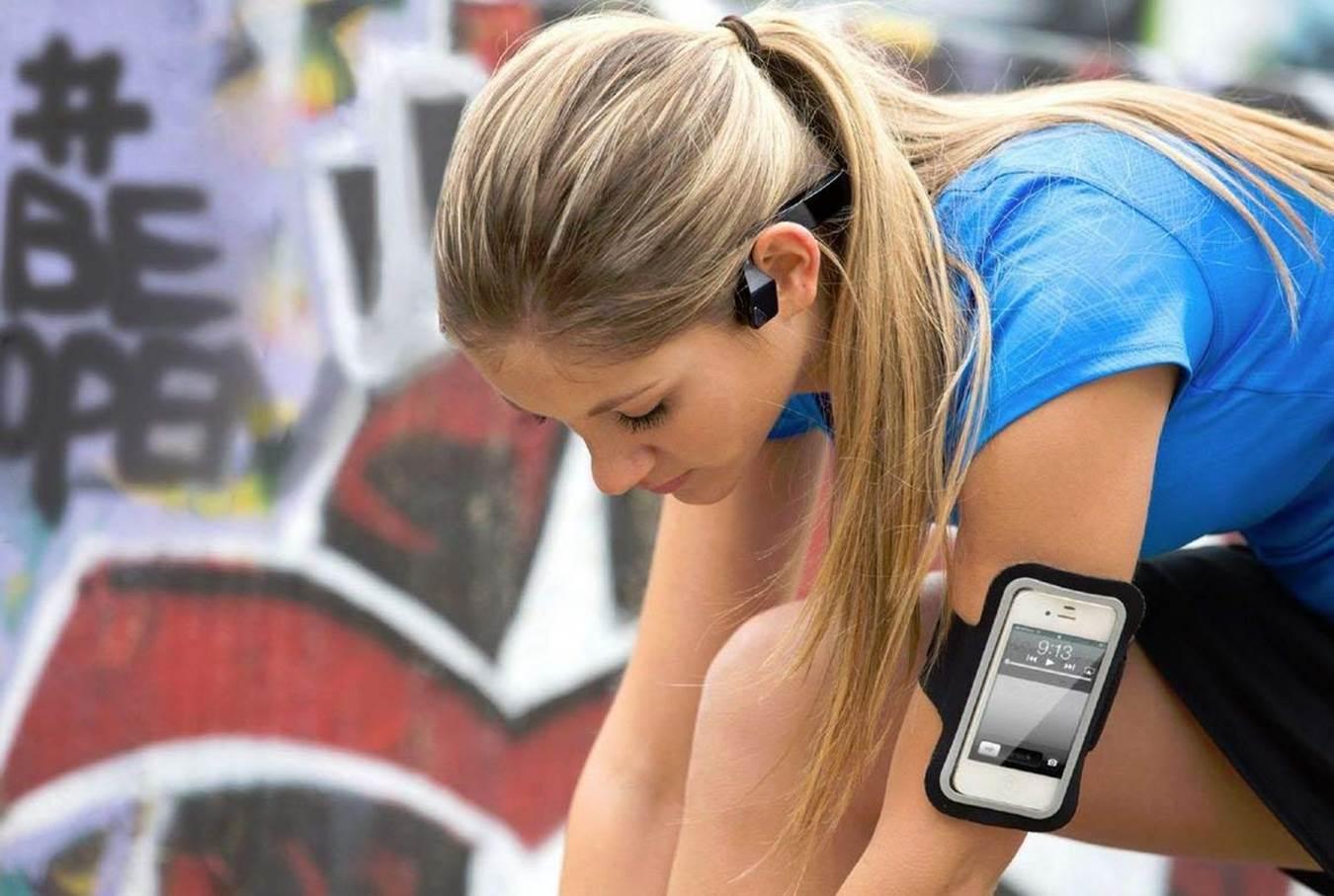 Aftershokz Bluez 2S Wireless Headphones for Running