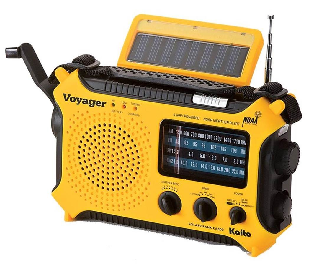 Kaito KA500 AMFM NOAA Portable Radio