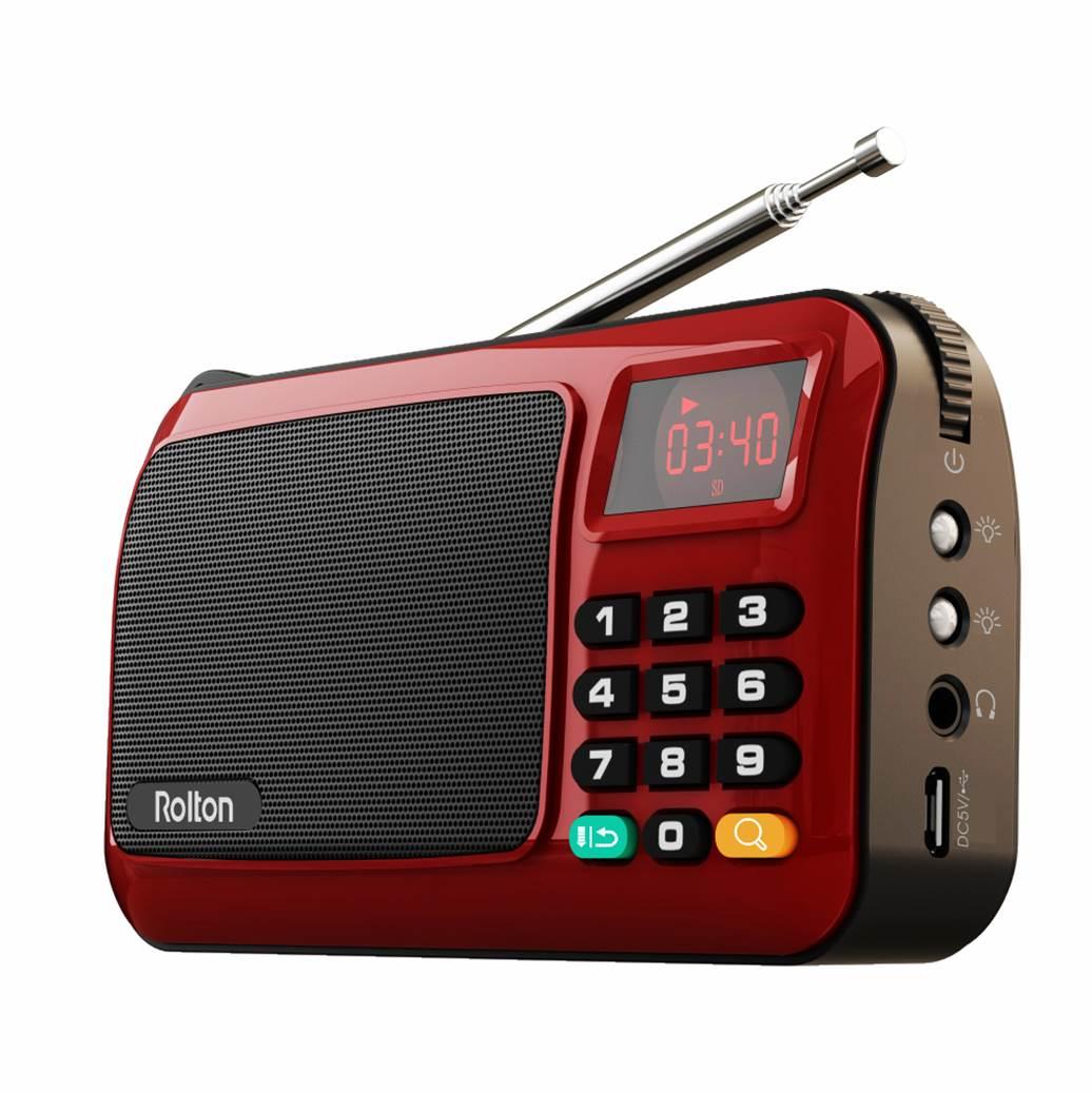 Rolton W405 Portable FM Radio