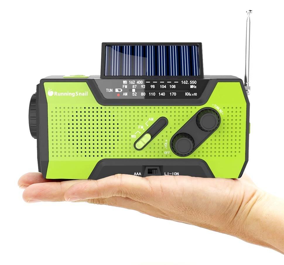 RunningSnail AMFM NOAA Portable Radio