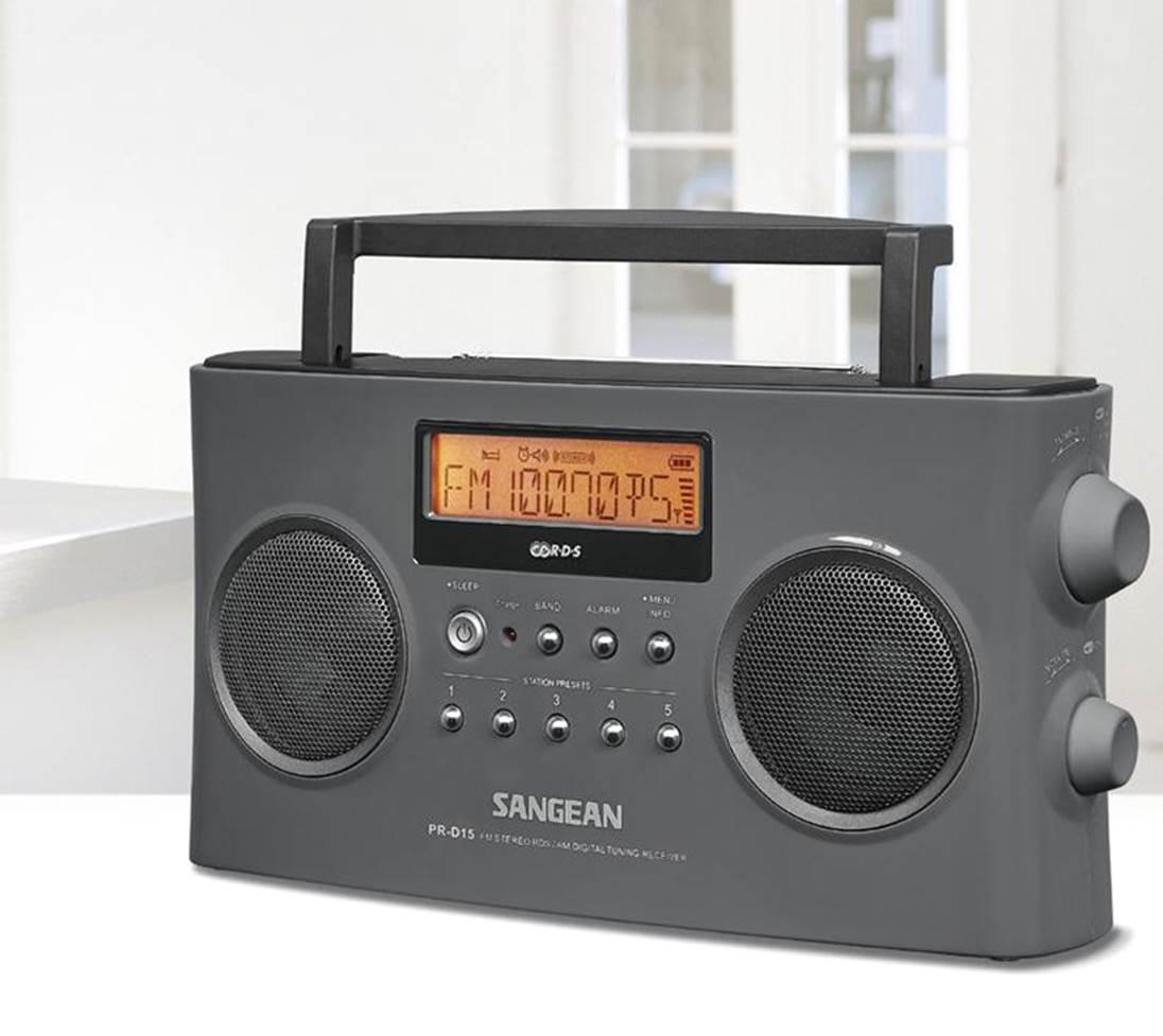Sangean PR-D15 FMAM Portable Radio