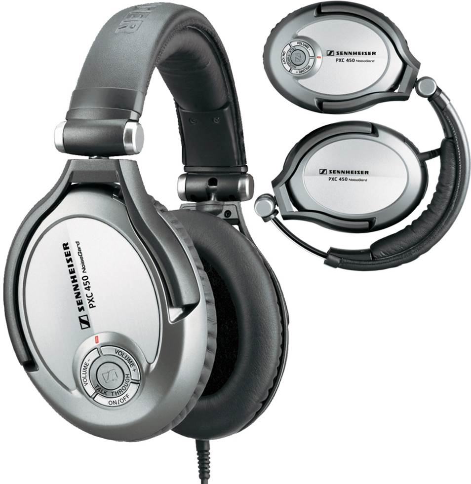 Sennheiser PXC 450 Active Noise-Cancelling Headphones