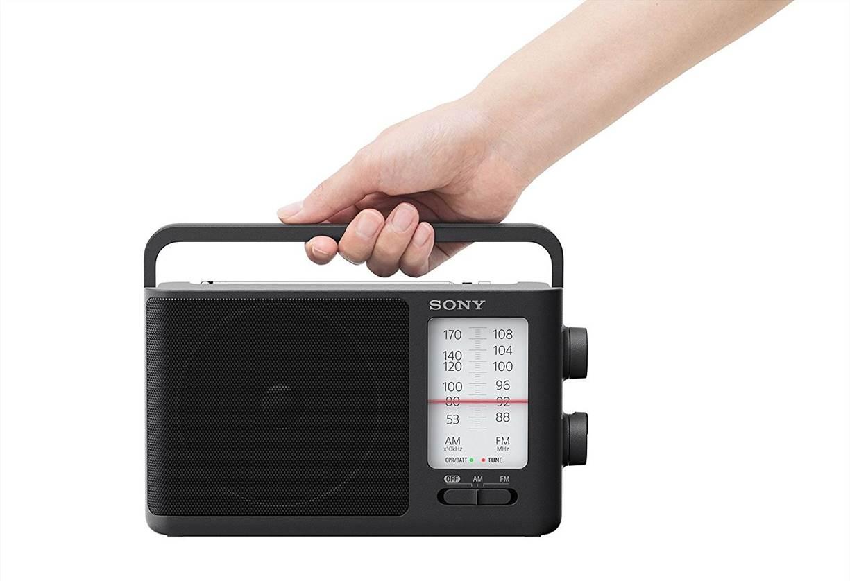 Sony ICF-506 Analog FM-AM Portable Radio