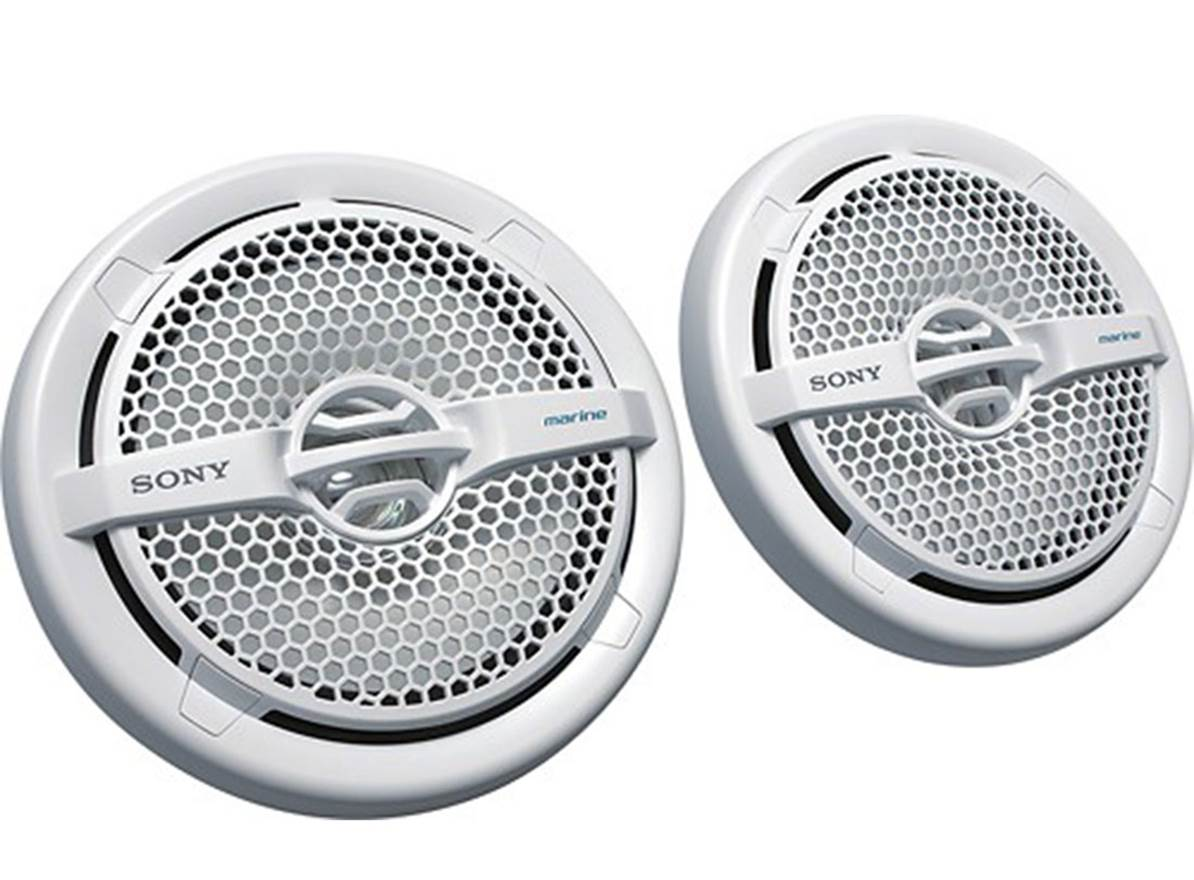 "Sony XSMP1611 6.5"" Marine Speakers"
