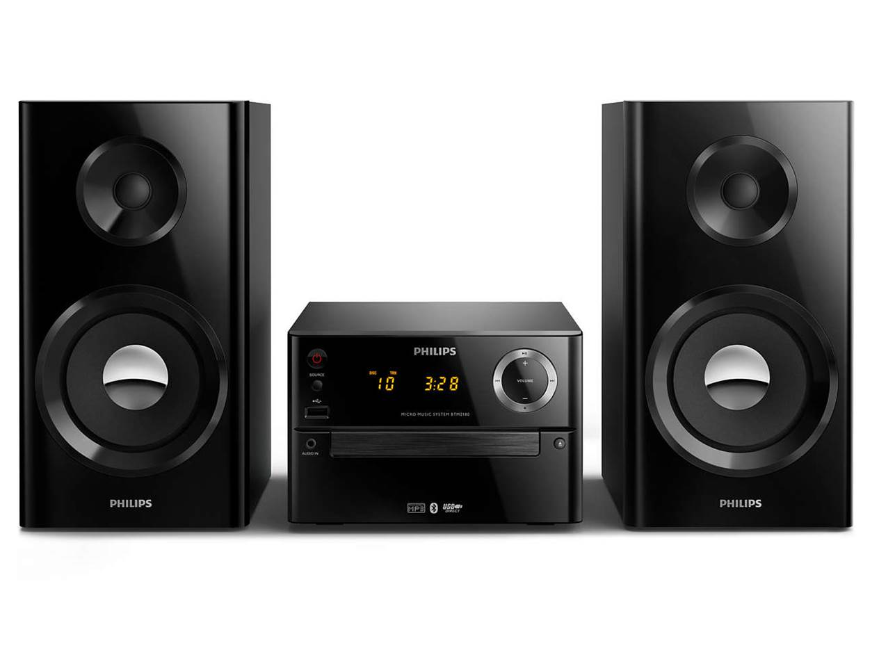 Philips BTM2180 Home Stereo System