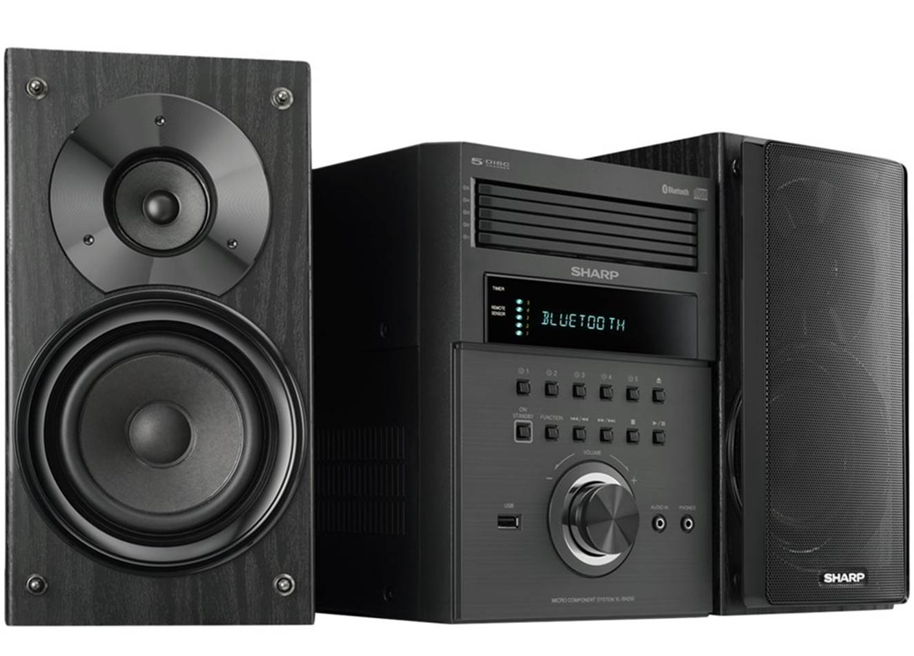 Sharp XL-BH250 Home Stereo System