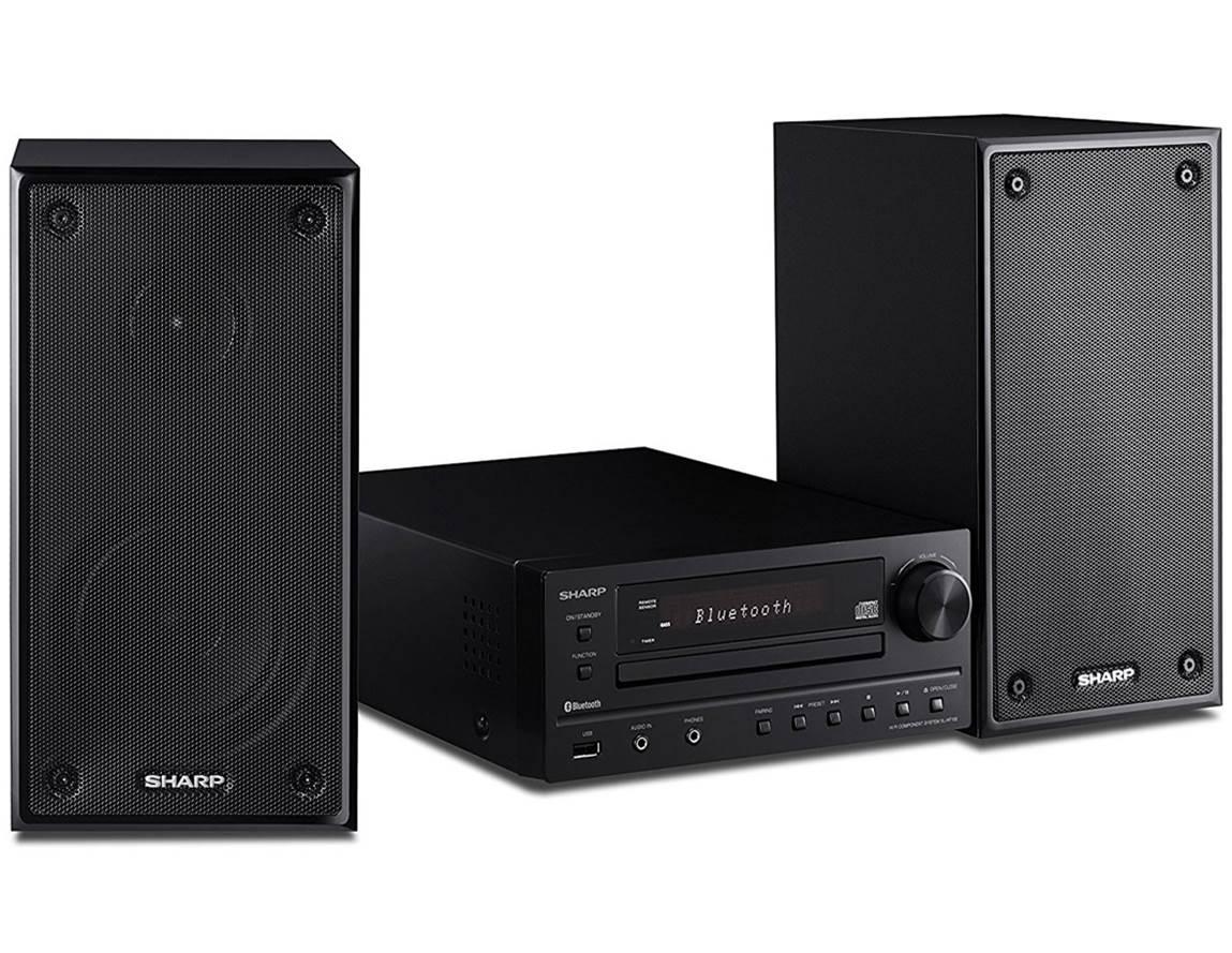 Sharp XLHF102B Hi-Fi Home Stereo System