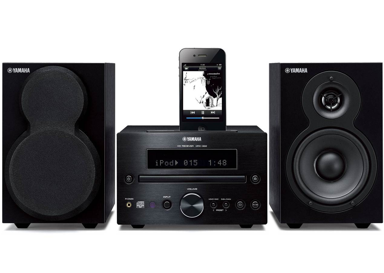 Yamaha MCR-232BL Home Stereo System