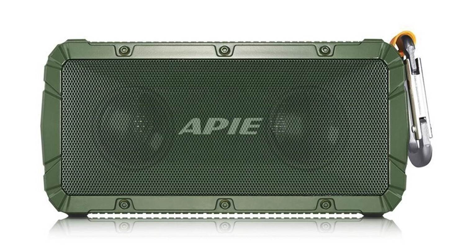 APIE IPX6 Waterproof Outdoor Bluetooth Speaker