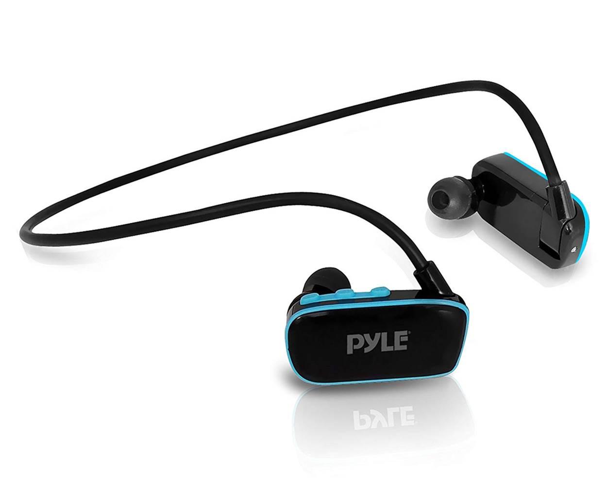 Pyle Neckband Waterproof Headphones for Swimming