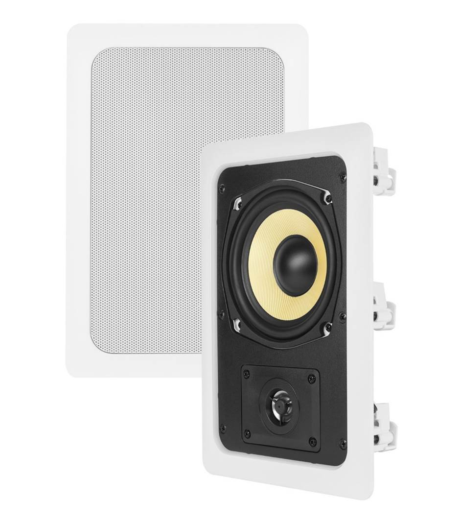 "Theater Solutions TS50W 5.25"" Kevlar In-Wall Speakers"