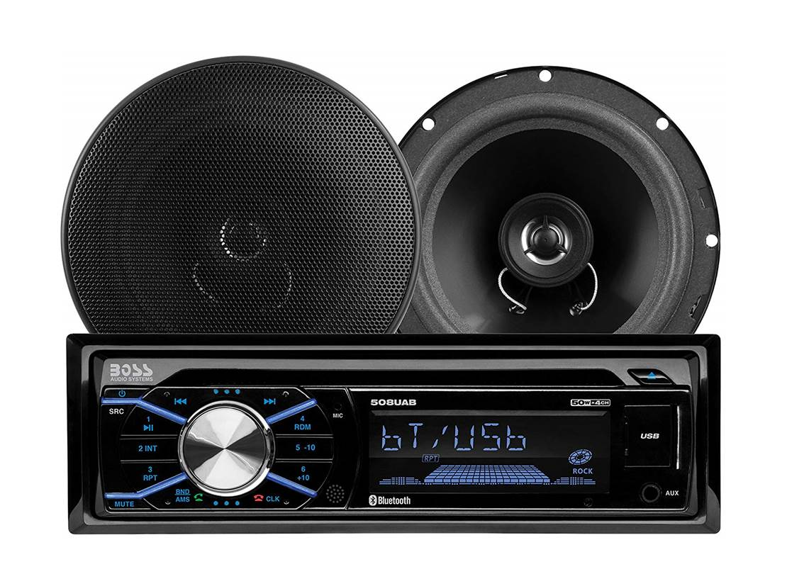 BOSS Audio 656BCK Car Stereo System