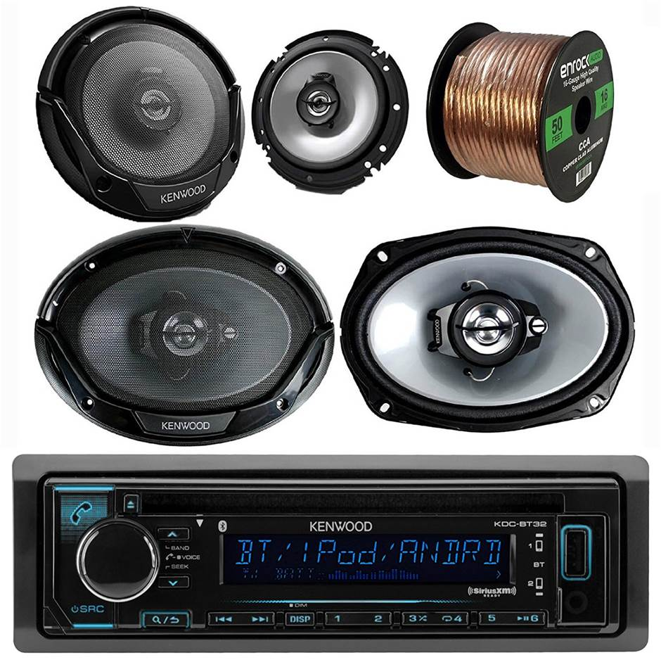 Kenwood Car Stereo System