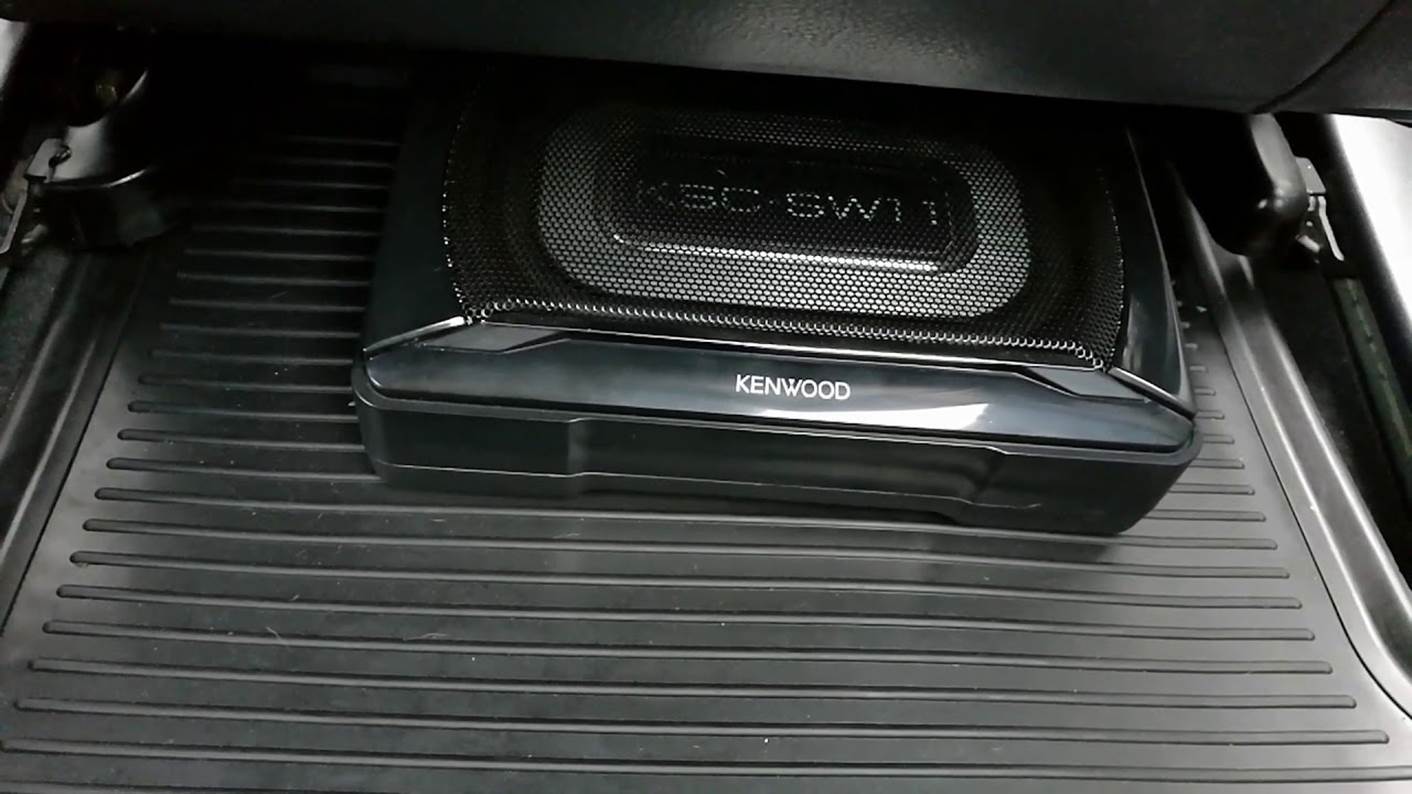 Kenwood KSC-SW11 Car Subwoofer