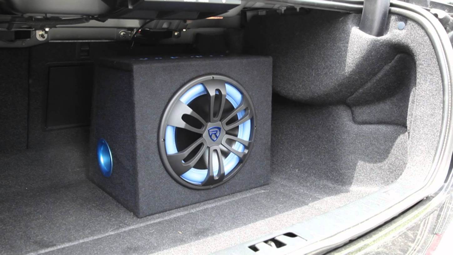 "Rockville RVB 12"" Car Subwoofer"