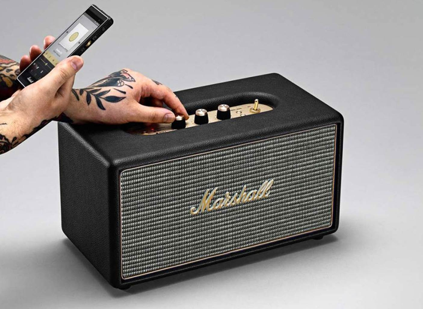 Marshall Kilburn Bass Bluetooth Speaker