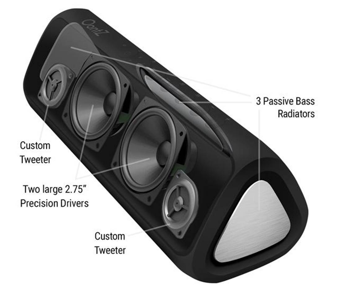 OontZ Angle 3XL Ultra Bass Bluetooth Speaker