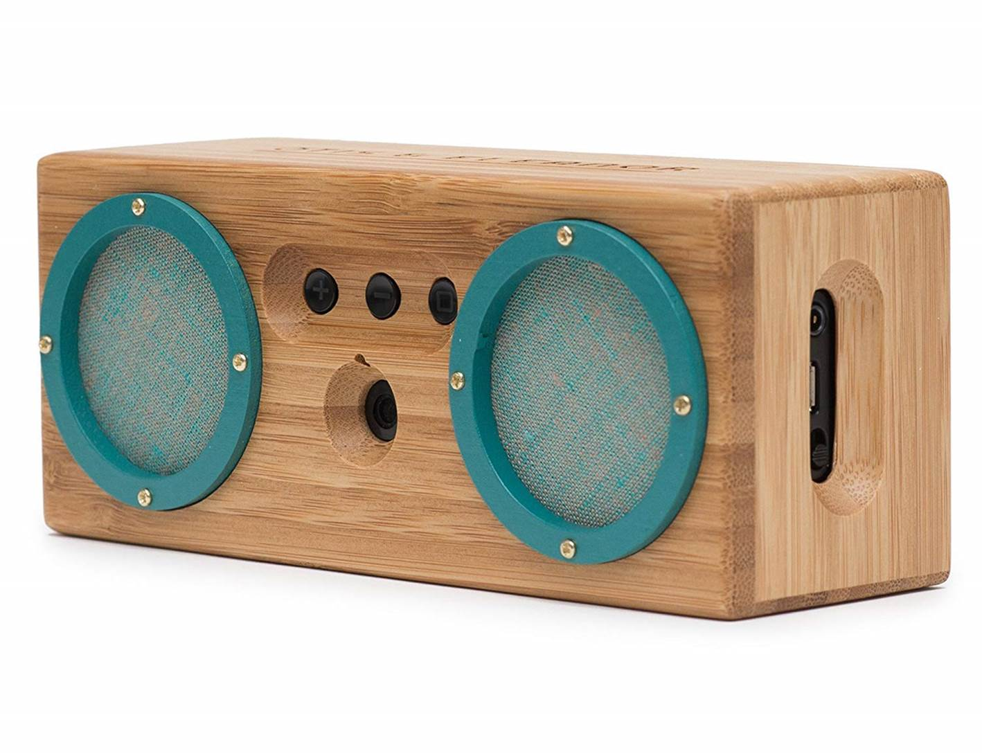 Bongo Wood Bluetooth Stereo Speakers