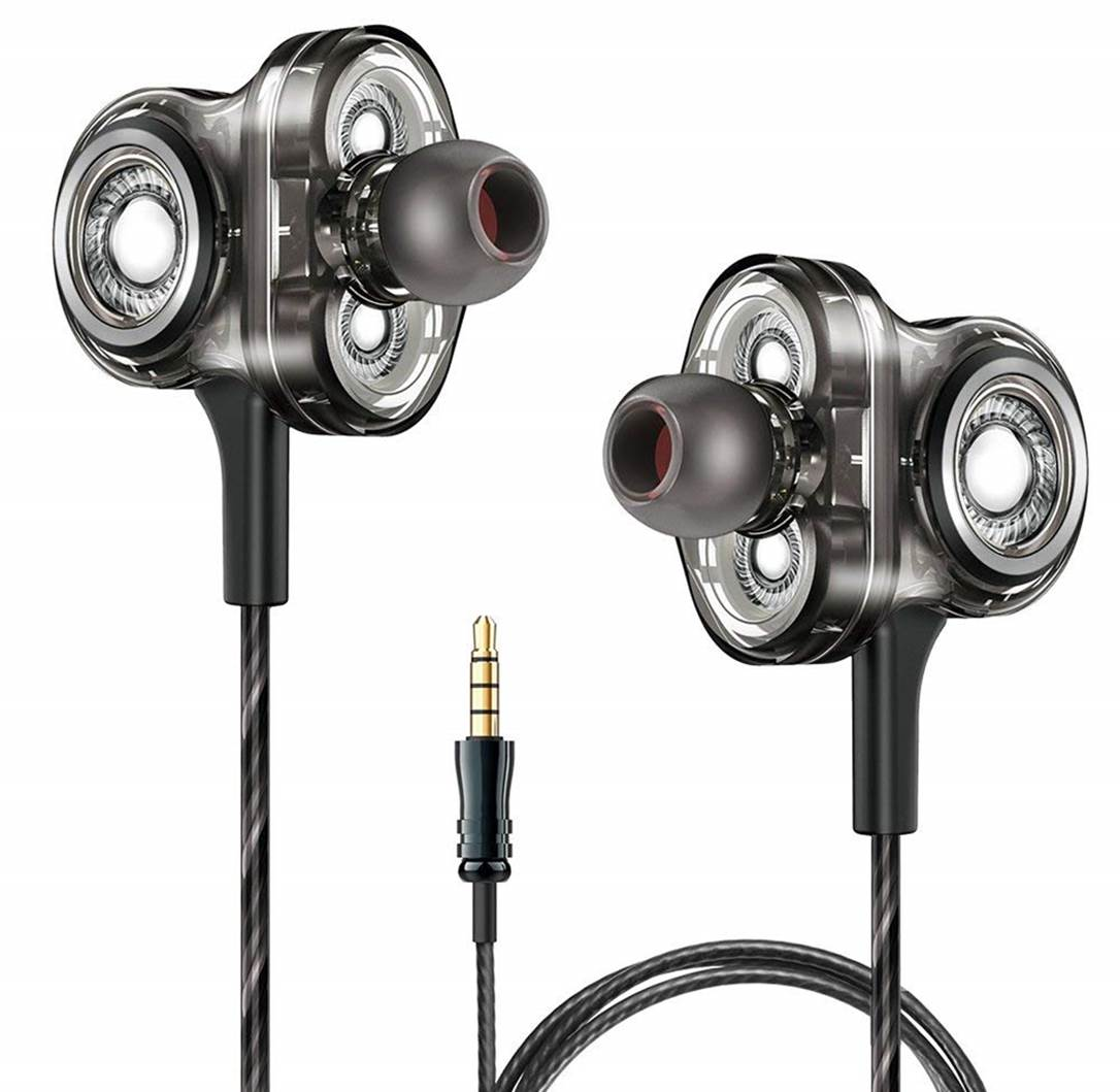 A&S Triple Driver In-Ear Headphones