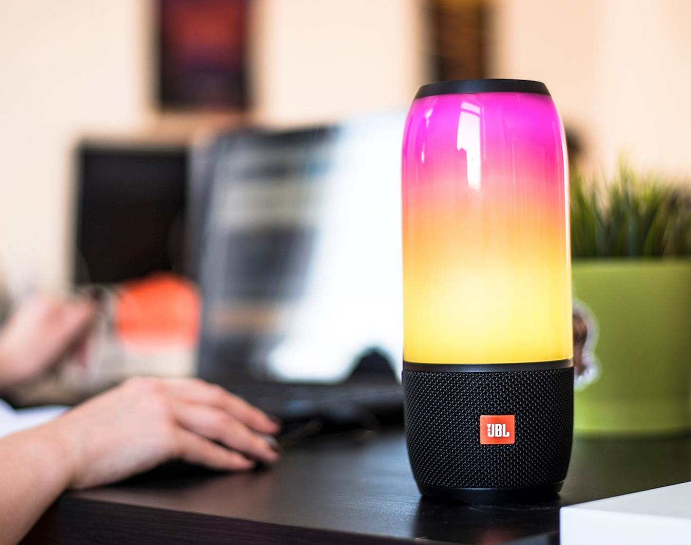 JBL Pulse 3 LED Bluetooth Speaker with Lights