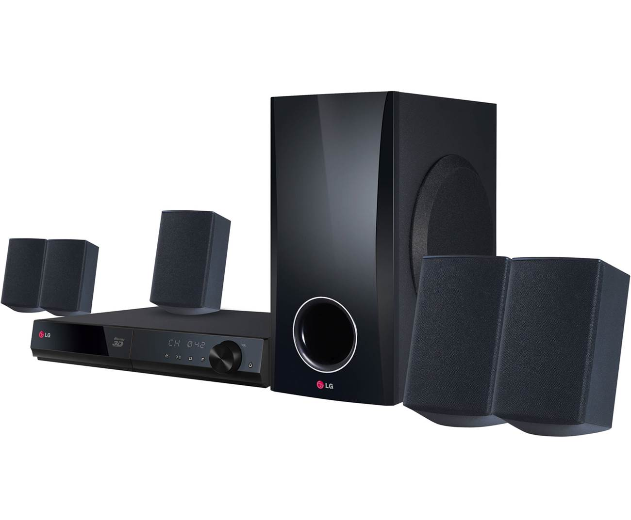 LG BH5140S Home Theater in a Box System