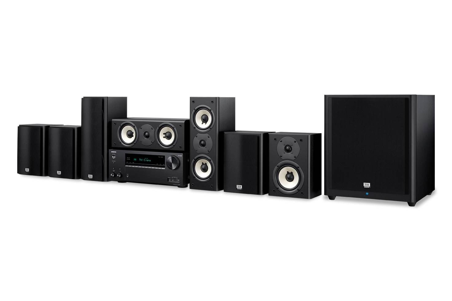 Onkyo 7.1 Home Theater in a Box System