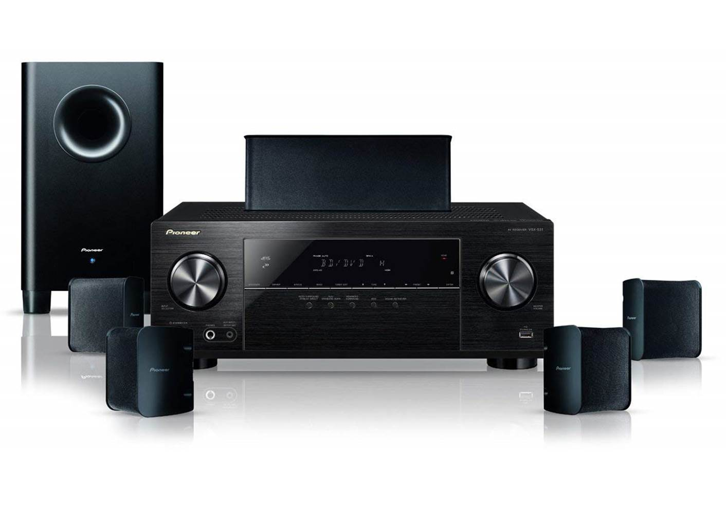Pioneer 5.1 Home Theater in a Box System