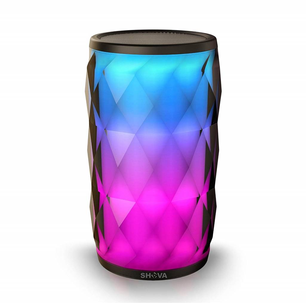 SHAVA LED Bluetooth Speaker with Lights