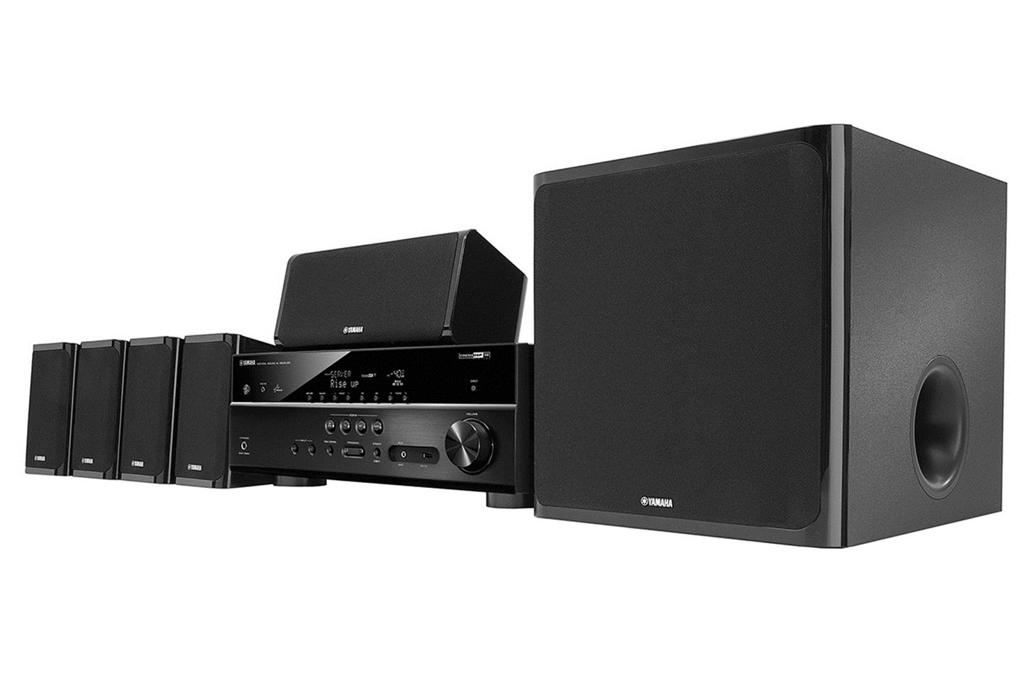 Yamaha YHT-4930UBL Home Theater in a Box