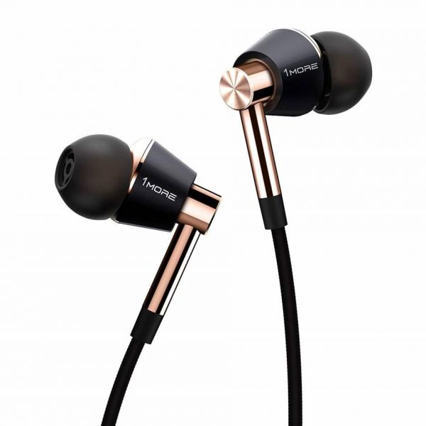 1MORE Triple Driver Hi-Res Best Bass Earbuds
