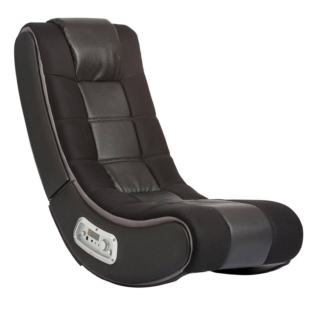 Ace Bayou V Rocker Gaming Chair with Speakers