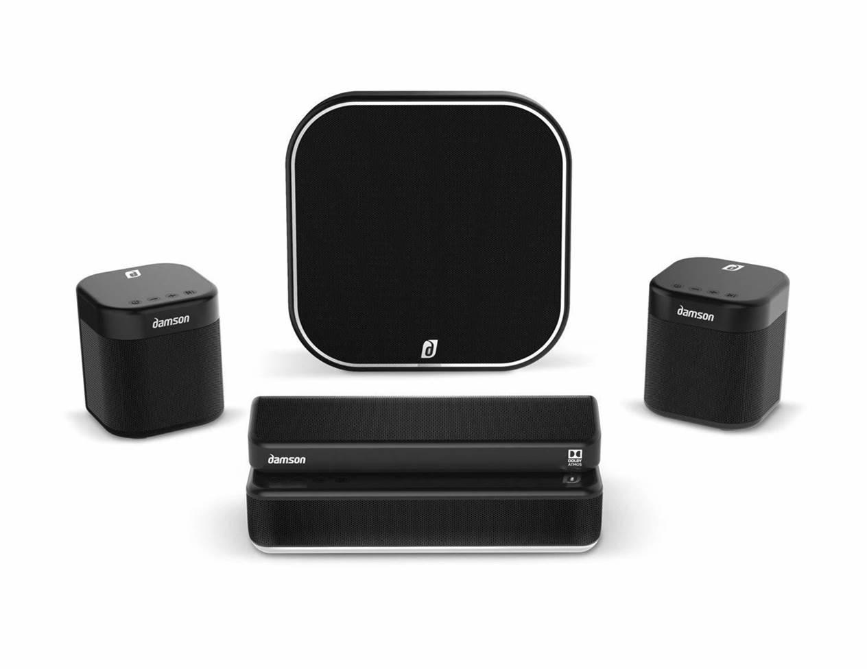 Damson S Wireless Surround Sound Speakers
