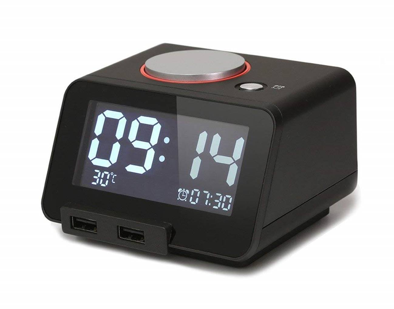 Homtime C1 Multi-Function Loud Alarm Clock