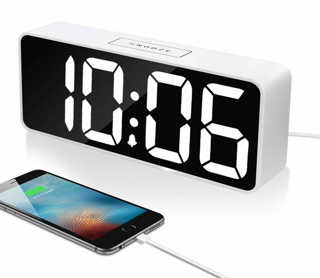 "Leiqi 9"" Digital Loud Alarm Clock"