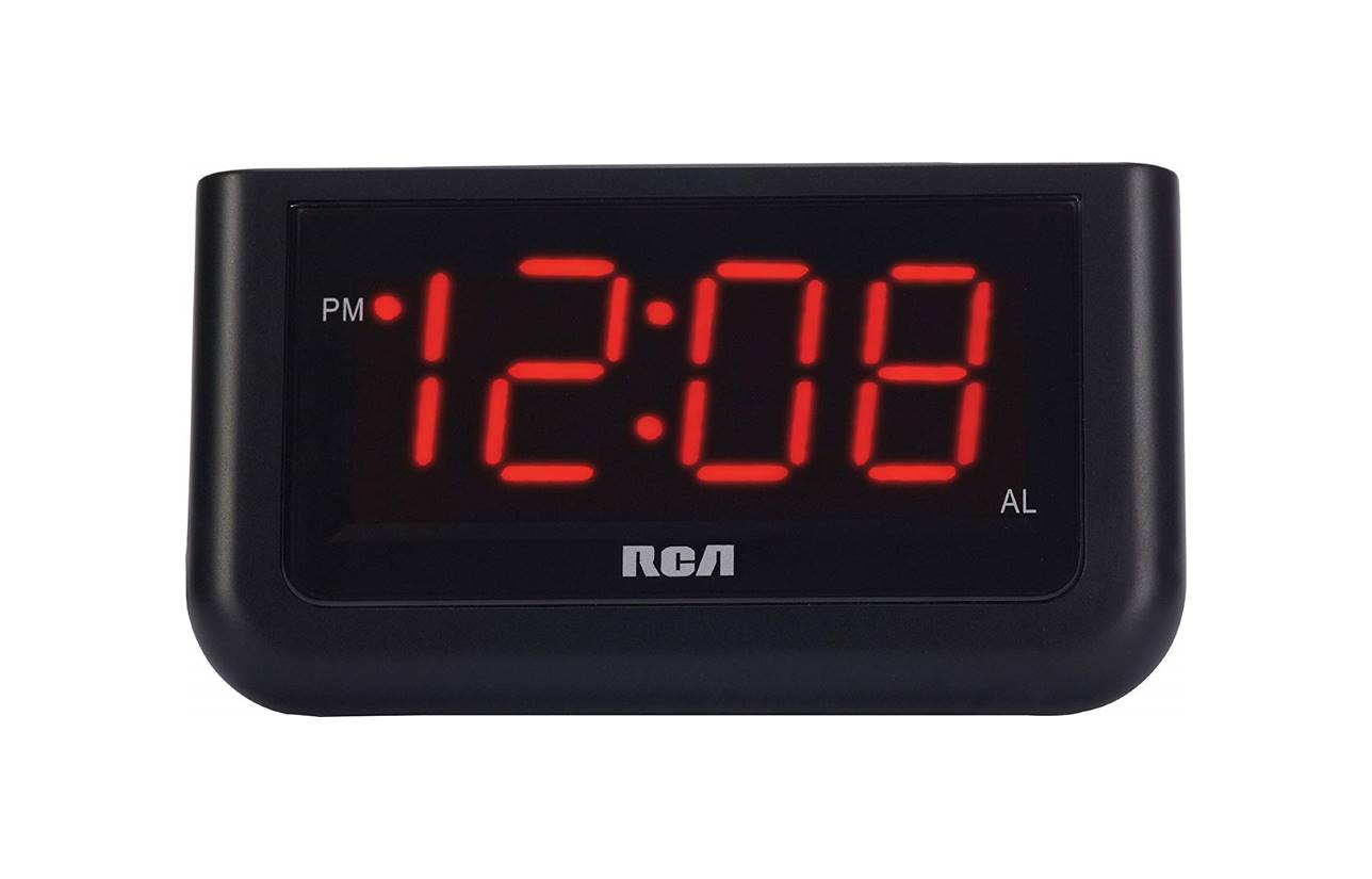 RCA Digital Loud Alarm Clock