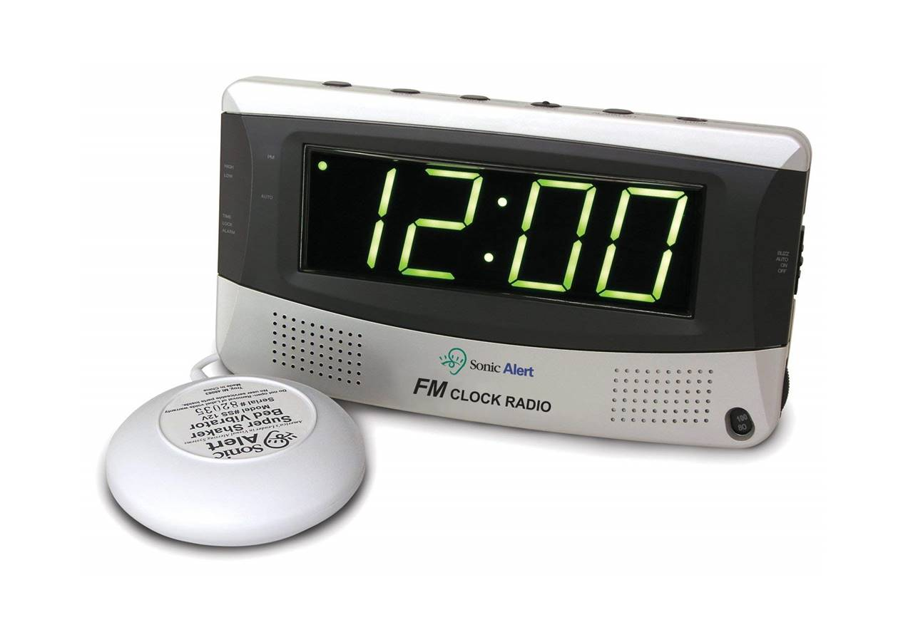 Sonic Alert SB300SS Loud Alarm Clock