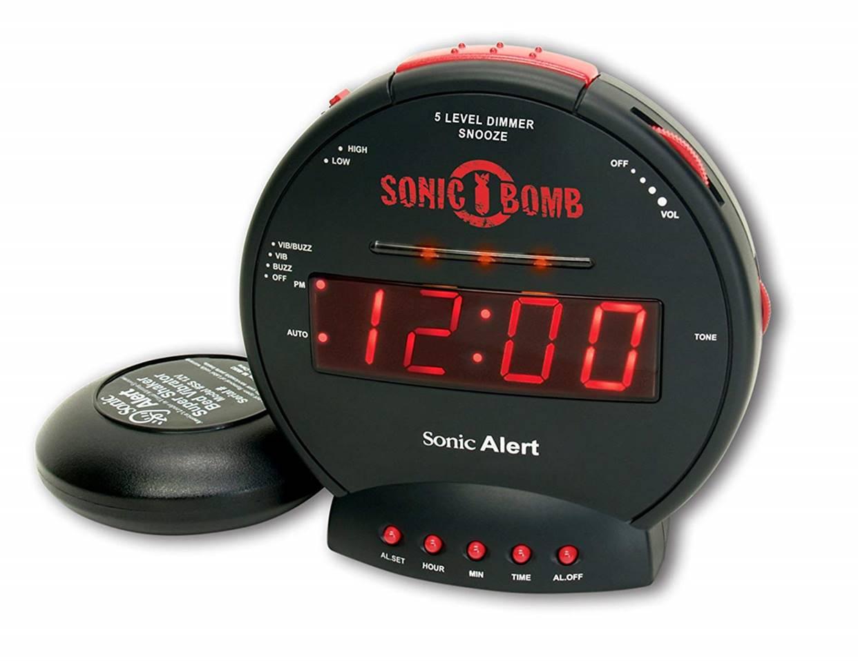 Sonic Dual Loud Alarm Clock