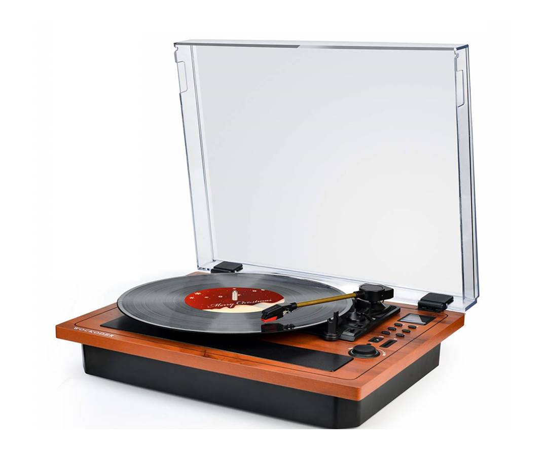 Wockoder Desk Bluetooth Turntable