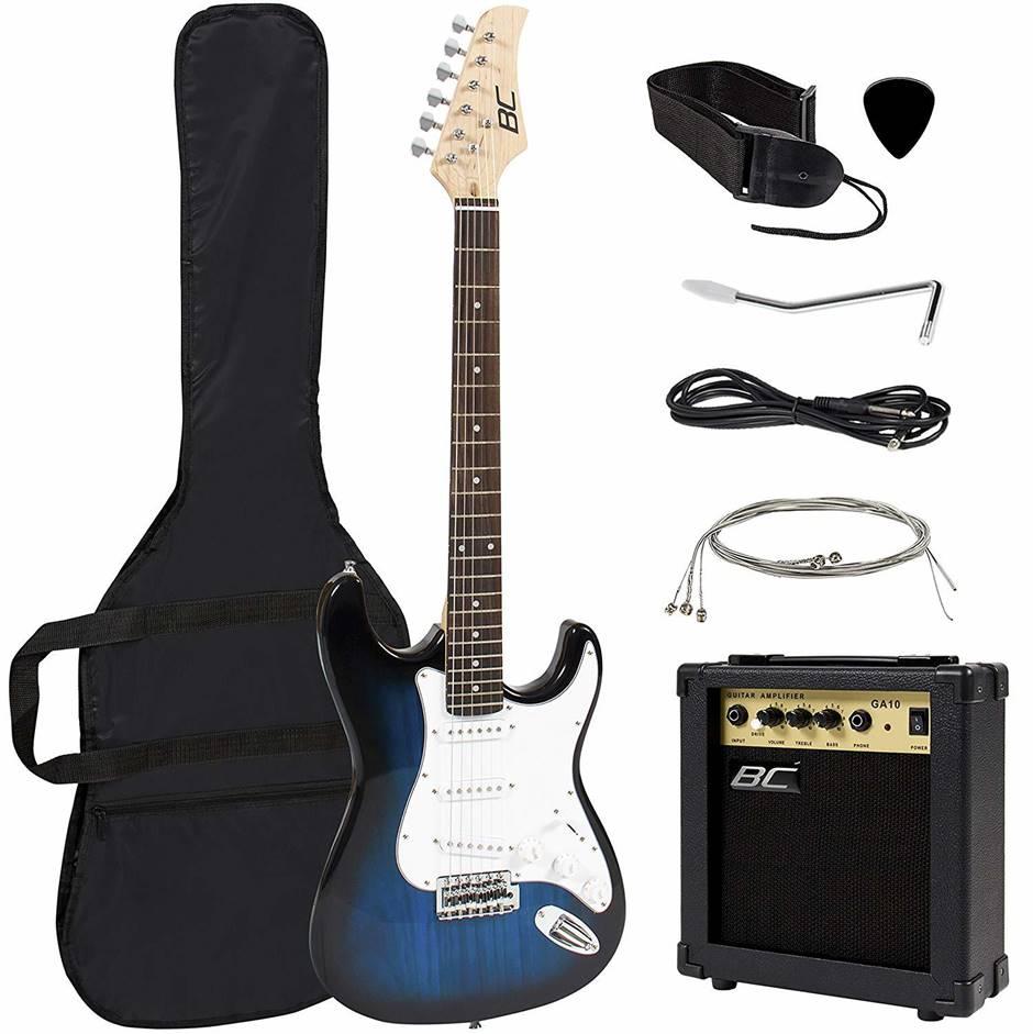 "BC 41"" Bass Guitar and Starter Kit"
