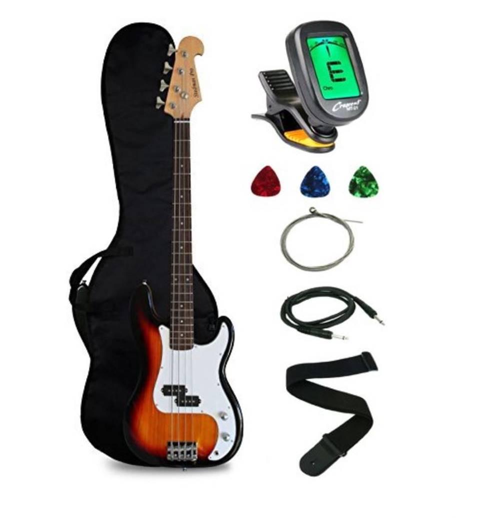Crescent Bass Guitar