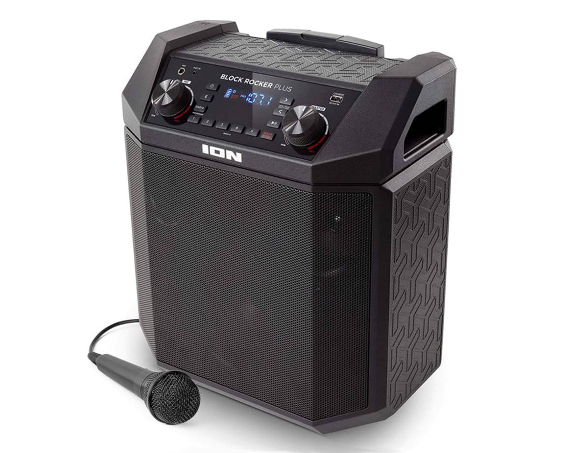 ION Audio Block Rocker Portable PA System