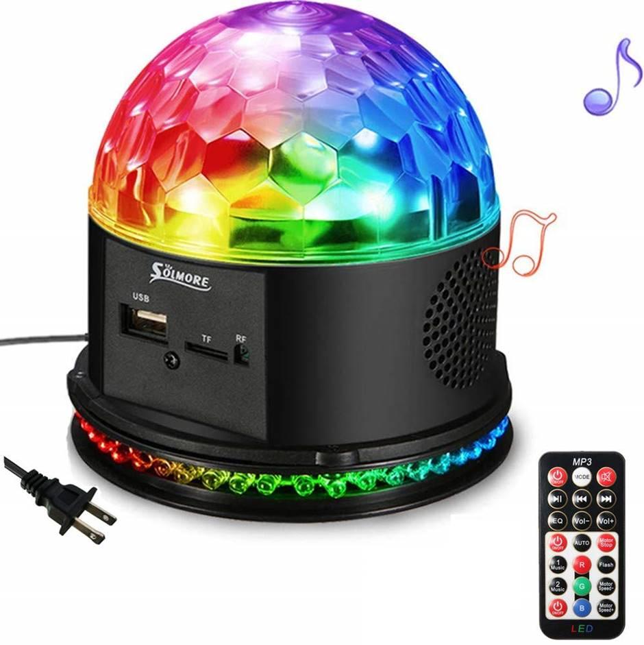 SOLMORE Disco Ball Speaker