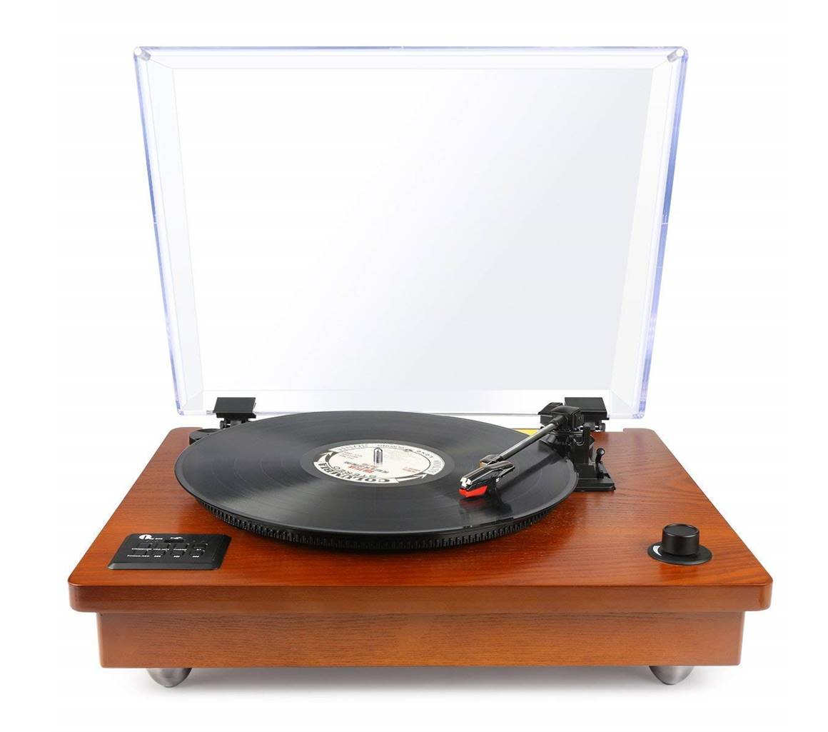 1byone Vinyl Record Player