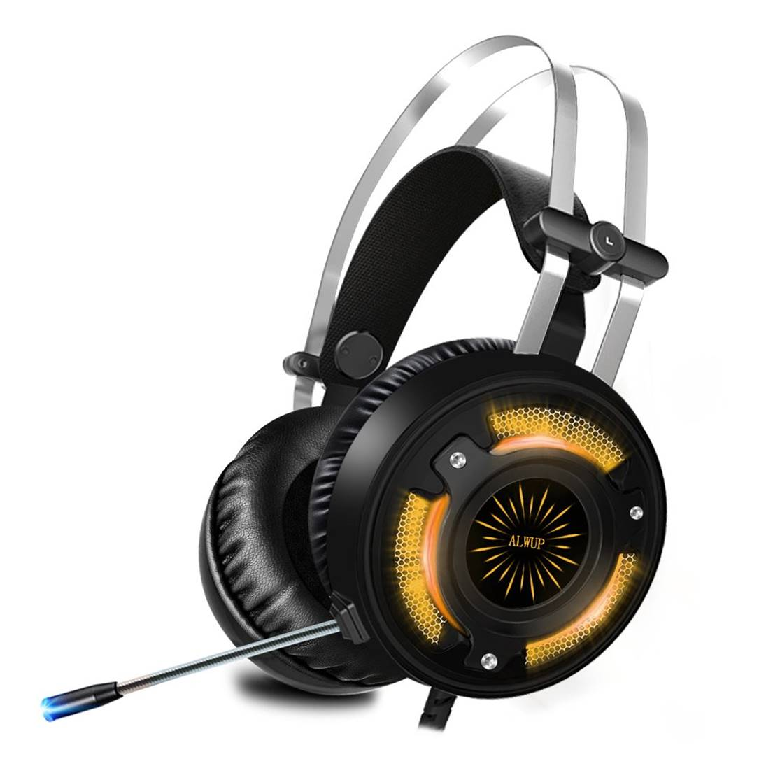ALWUP Gaming Headphones for PS4