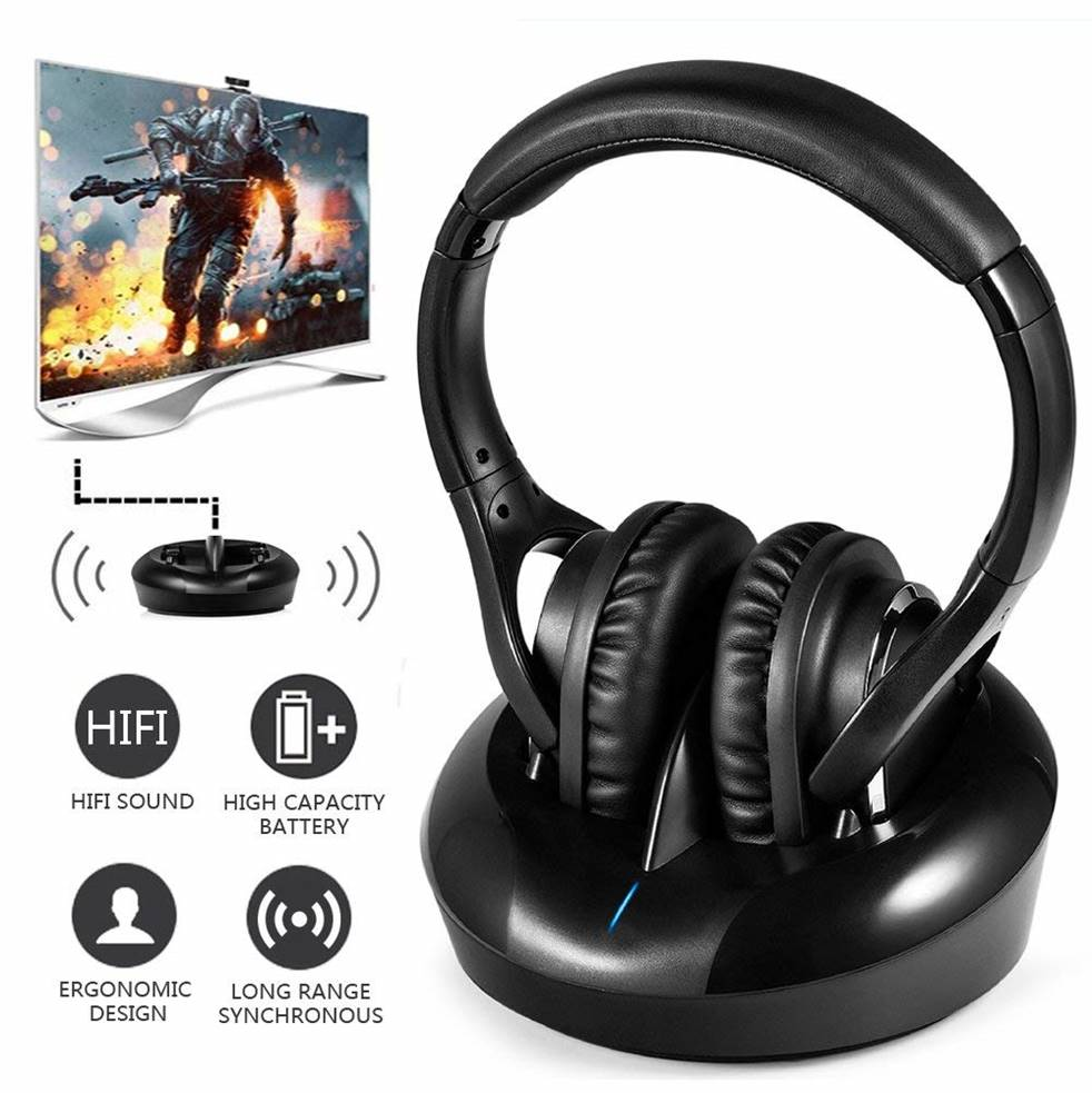Ansee Wireless RF Headphones for TV