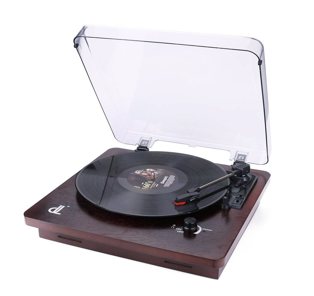 D&L 3-Speed Vinyl Record Player